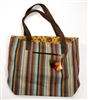 Bohemian Striped Traveler Bag - India