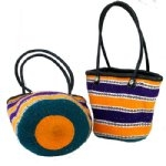 Kiondo Wool Tote Bag