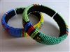 Beaded Zulu Bangle Bracelet - Small