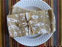 Jasmine Vine Napkins - Set of 4
