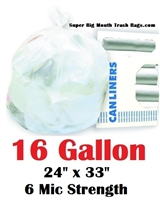 16 Gallon Trash Bags