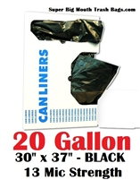 20 Gallon Trash Bags