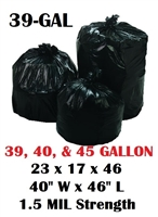 NYC 39 Gallon Trash Bags
