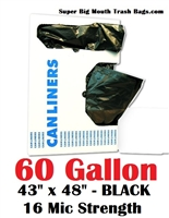 60 Gallon Trash Bags