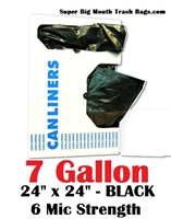7 Gallon Trash Bags