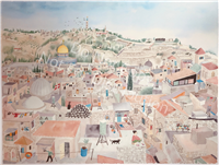 Jerusalem The City Of Gold by William Kendrick