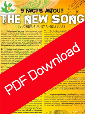 9 Facts About The New Song - Joshua Mills (Digital PDF Download)