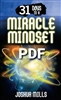 31 Days To A Miracle Mindset - Joshua Mills (Digital PDF Book)
