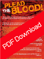 Plead The Blood - Joshua Mills (Digital PDF Download)