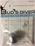 "Bud's Diverâ""¢ Weight 6oz"