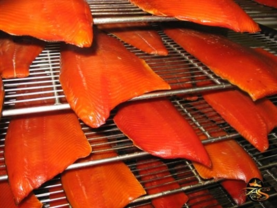 Smoked King Salmon from Alaskan Pride Seafoods