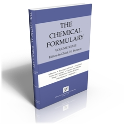 The Chemical Formulary, Volume 33