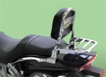 Hyosung Aquila 650 Sissy Bar Luggage Rack Standard