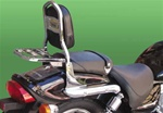 HYOSUNG SISSY BAR WITH LUGGAGE AQUILA 125/250
