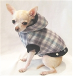 Flannel Dog Coat