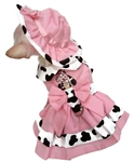 Dog Harness Dress Set