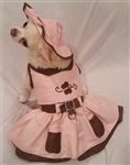 Flutter By Dog Harness Dress