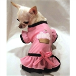 Ruffled Dog Dress