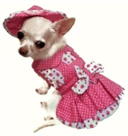 Strawberry Patch Dog Dress