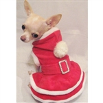 Christmas Dog Hoodie Dress
