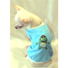 Little Frog Prince Tank Style Dog Shirt