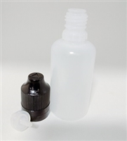 30 ML LDPE Dropper Bottle - Child Proof / Tamper Evident