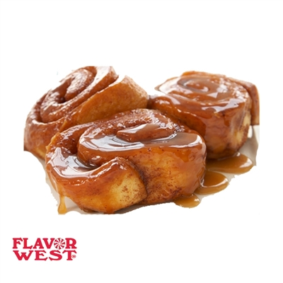 Caramel Cinnamon Roll by FlavorWest
