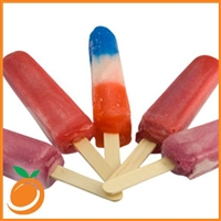 Red, White and Blue Popsicle by Real Flavors