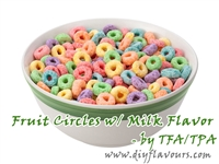 Fruit Circles w/Milk Flavor by TFA or TPA