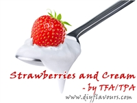 Strawberries and Cream Flavor by TFA or TPA