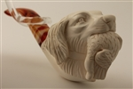 Special Hand Carved Hunting Dog Meerschaum Pipes