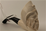 Deluxe Hand Carved Meerschaum Pipes - Pirate