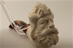 Deluxe Hand Carved Viking Meerschaum Pipes