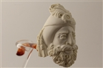 Deluxe Hand Carved Sultan Churchwarden Meerschaum Pipes