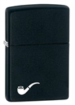 Black Matte Zippo Pipe Lighter