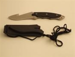Hanging Knife with Sheath - Black