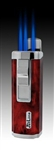 JetLine Houston Butane Lighter - Red