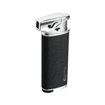 Vector KGM Elio Butane Pipe Lighter with Tamper - Black Crackle
