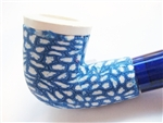 Fimo Meerschaum Pipes - Blue