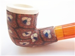 Fimo Meerschaum Pipes - Brown