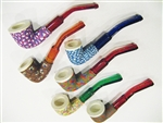 Fimo Meerschaum Pipes - Set of 6
