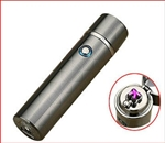 Dual Cross Arc Electric Lighter - Gun Metal