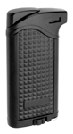 Vector KGM Maximus Butane Pipe Lighter with Tamper - Black Matte