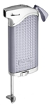 Vector KGM Maximus Butane Pipe Lighter with Tamper - Chrome Satin