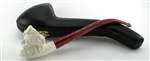 Sultan Lattice Churchwarden 100% Block Meerschaum Pipe