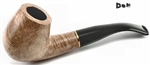 9mm Filter Classic Brass Ring Colton German Briar Pipe