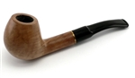 9mm Filter Brandy Brass Ring Colton German Briar Pipe