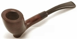 Small Sitting Freehand Long Stem Italian Briar Pipe
