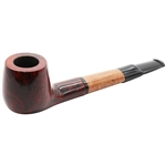 German Colton Oval Shank Briar Pipe