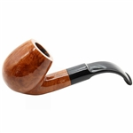 9mm German Oom Paul Style Polished Briar Pipe